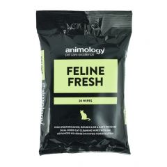 Animology Feline Fresh Cat Wipes