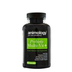 Animology Prebiotic Multi-Vit+ Supplement 60 Capsules