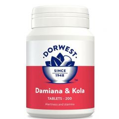 Dorwest Herbs Damiana & Kola 100 Tablets