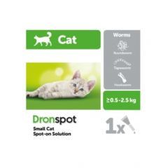 Dronspot Spot-On Wormer for Cats (Sold Individually) (NFA-VPS)-Small