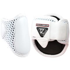 Equilibrium Products Tri-Zone Fetlock Boots - White (Equine)