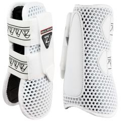 Equilibrium Products Tri-Zone Open Fronted Tendon Boots - White (Equine)