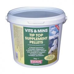 Equimins Tip Top Supplement Pellets 3kg
