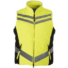 Equisafety Quilted Hi-Vis Gilet (Human/Equine)