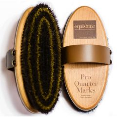 Equishine Pro Quarter Marks Grooming Brush (Equine)