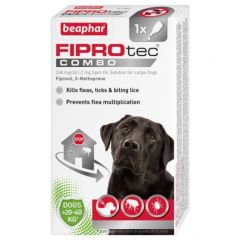 Beaphar FIPROtec COMBO for Large Dogs (Canine)-1 Pipette