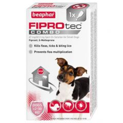 Beaphar FIPROtec COMBO for Dogs (Canine)-Small Dog 1 Pipette