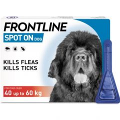 Frontline Spot On for Extra Large Dogs 40-60kg