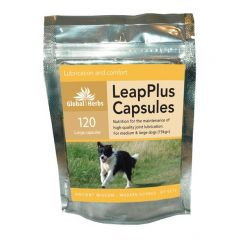 Global Herbs LeapPlus 60 Capsules or 120 Capsules (120 Capsules Pictured)