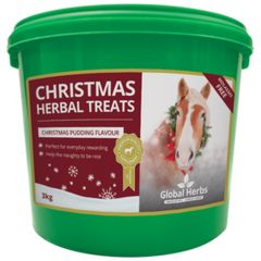 Global Herbs Christmas Pudding Flavour Herbal Treats 3kg