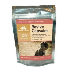 Global Herbs Revive 60 Capsules or 120 Capsules (120 Capsules Pictured)