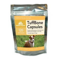 Global Herbs TuffBone 60 Capsules or 120 Capsules (120 Small Dog Capsules Pictured)