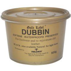 Gold Label Dubbin 500g (Equine)