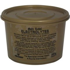 Gold Label Electrolytes Powder 250g (Equine)