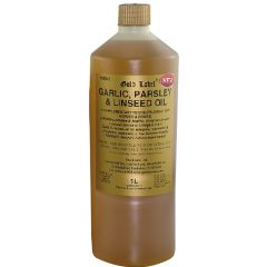 Gold Label Garlic, Parsley & Linseed Oil 1 Litre (Equine)