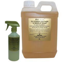 Gold Label Glycerin Leather & Saddle Soap Liquid (Equine)
