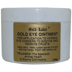 Gold Label Gold Eye Ointment 100g (Equine/Canine)