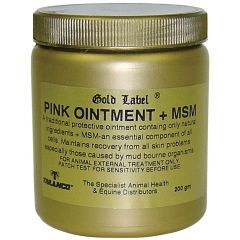 Gold Label Pink Ointment + MSM (Equine)