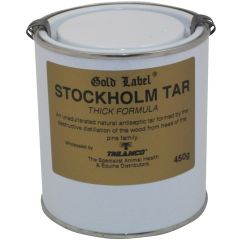 Gold Label Stockholm Tar Thick Formula 450g (Equine)