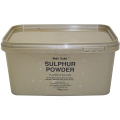 Gold Label Sulphur Powder 1kg (Equine)
