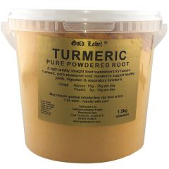 Gold Label Turmeric 1.5kg (Equine)