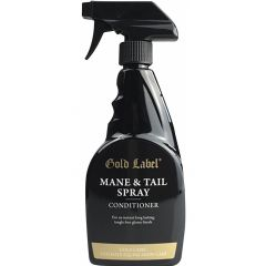 Gold Label Ultimate Mane & Tail Conditioning Spray 500ml (Equine)