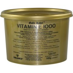 Gold Label Vitamin E 1000 (Equine)
