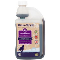 Hilton Herbs Cleaver & Marigold Tincture 500ml (Equine)