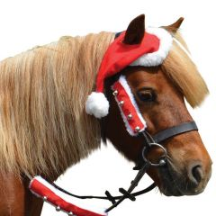Hy Christmas Santa Horse Hat (Equine)