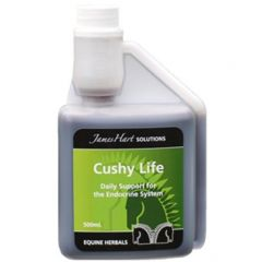 James Hart Cushy Life (Equine) (500ml pictured)
