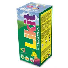 Likit Multipack 650g x 3 (Apple, Cherry and Banana)