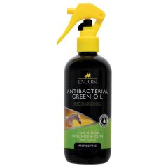 Lincoln Antibacterial Green Oil 250ml (Equine)