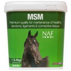 NAF MSM 2.5kg (Equine)- BBE: 07/20 - 40% OFF!
