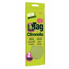 NAF Off Citronella Tag 2 Pack
