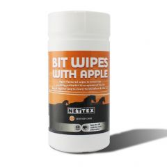 Nettex Bit Clean Wipes 50 Pack - Apple Flavoured