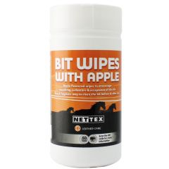 Nettex Bit Clean Wipes with Apple 50 Pack (Equine) - BEST BEFORE 06/2021 30% OFF