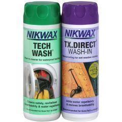 Nikwax Tech Wash/TX.Direct Wash-In Twin Pack (Human)