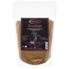 Omega Equine Rosehips 1kg (Equine)