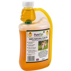 PureFlax Flax Seed Oil for Dogs 500ml