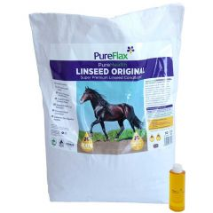 PureFlax PureHealth Original Linseed Conditioner 15kg (Equine)