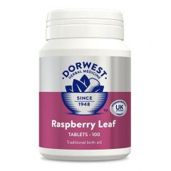 Dorwest Herbs Raspberry Leaf 100 Tablets