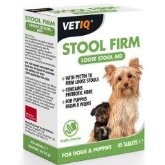 VetIQ Stool Firm Tablets