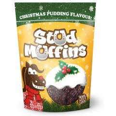 Stud Muffins Christmas Pudding Flavour Treats 15 Pack (Equine)