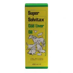 Super Solvitax Cod Liver Oil 400ml