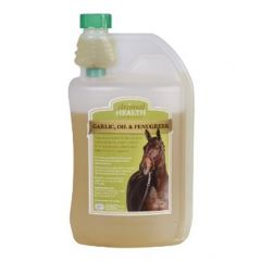 The Animal Health Company Garlic, Oil & Fenugreek (1 Litre Pictured)