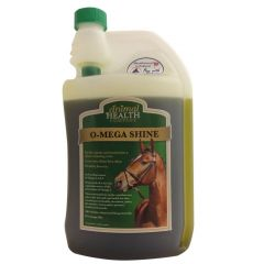 The Animal Health Company O-Mega Shine 1 Litre