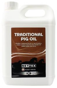 Nettex Traditional Pig Oil 2 Litre (Equine)