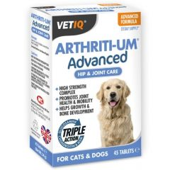 VetIQ Arthriti-Um Advanced Tablets