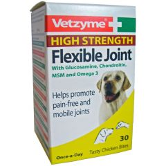 Vetzyme High Strength Flexible Joint Tablets (Canine)