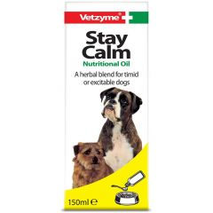 Vetzyme Stay Calm Formula 150ml (Canine)